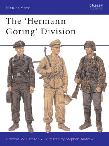 The Hermann Goering Division (Men-at-Arms Series)