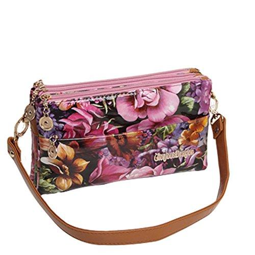 borsa a tracolla Ms./busta di moda/pacchetto diagonale/Zipper Clutch-G