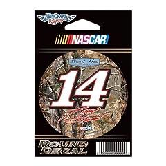 Buy Camo Tony Stewart Official NASCAR 3 Diameter Vinyl Car Decal by WinCraft