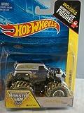 Grave Digger the Legend Monster Jam Off Road Truck By Hot Wheels 1:64 Includes Monster Jam Figure