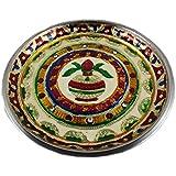 Odishabazaar Pooja Thali. Can Be Use As Kitchenware And Gifting Pooja Thali / Plate For Diwali / Pooja / Gift