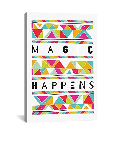 Susan Claire Magic Happens Gallery Wrapped Canvas Print