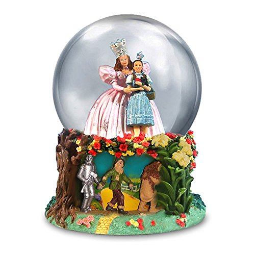The Wizard of Oz Glinda and Dorothy Water Globe by San Francisco Music Box