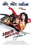 To Wong Foo, Thanks for Everything, Julie Newmar Poster Movie 27 x 40 In - 69cm x 102cm Wesley Snipes Patrick Swayze John Leguizamo Stockard Channing Blythe Danner Melinda Dillon