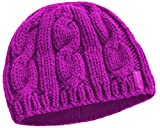 Peekaboos Ponytail Hats Womens Classic Cable Knit Ponytail Hat