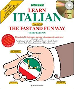 Amazon.com: Learn Italian the Fast and Fun Way (Barrons ...