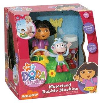 motorized bubble machine