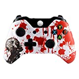 eXtremeRate Zombie Blood Front Upper Shell Face Plate Replacement Parts For Standard Xbox One Controller With and Without 3.5 mm jack (Color: Zombie Blood)