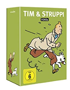 Tim & Struppi - Komplettbox [9 DVDs]