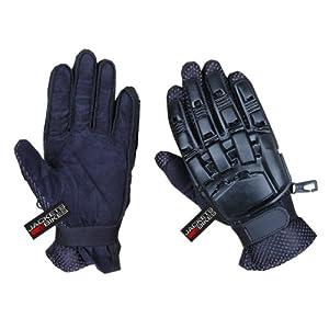 Buy Full Finger Motocross Paintball War Gloves Plastic M by Jackets 4 Bikes