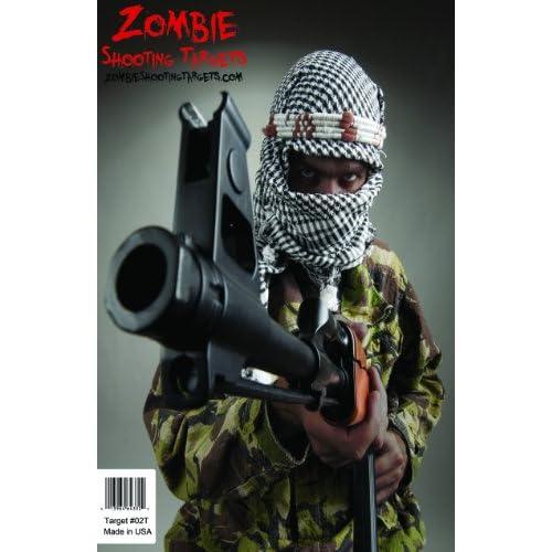 .com : Terrorist Paper Shooting Targets (10 Pack) : Hunting Targets ...
