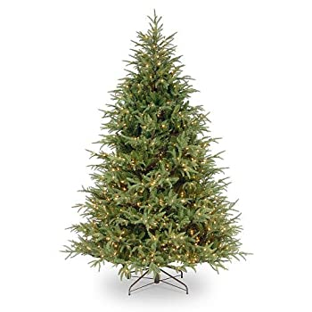 7 1/2 foot Frasier Grande Hinged Tree with 1000 Clear Lights