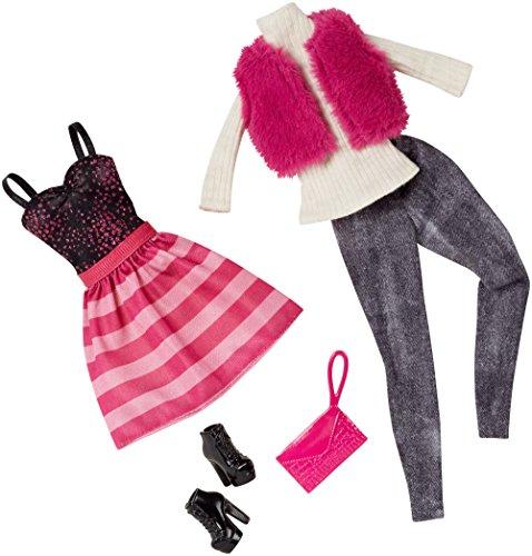 MATTEL Barbie/Ken Vestito Fashion FSH 2 PK #1 (1/2015) CFY06 CLL17