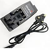 Ultrafire WF-139 Rechargable 18350 14500 17670 18650 18500 Li-ion Battery Charger for Flashlight Torch UK Stock