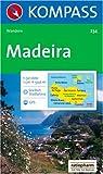 Madeira: Wanderkarte mit Aktiv Guide und Stadtplan. GPS-genau.1:50000 (KOMPASS-Wanderkarten, Band 234) title=