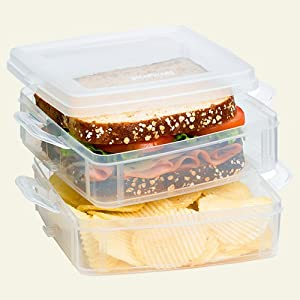 Snapware Snap 'N Stack Food Sandwich 2 Layer