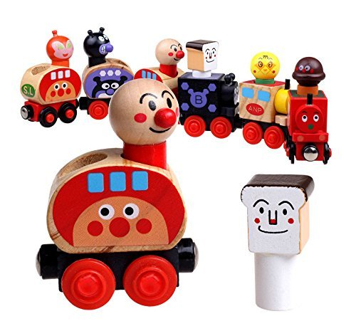 BabyPrice Wooden Animal Train Cars Set Engines & Train Cars Collection (Vintage Train Engine compare prices)