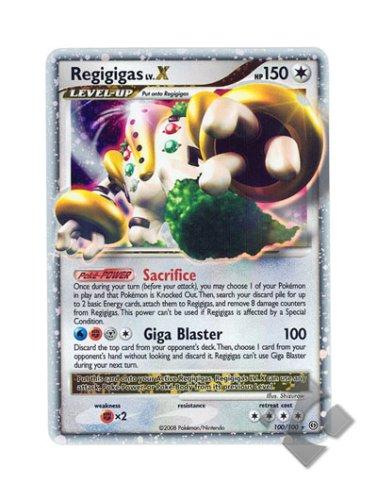 Pokemon Stormfront #100 Regigigas LV. X Ultra Rare Holo Card - 1