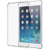 iPad Pro Case, LUVVITT CLEAR GRIP Flexible Soft Transparent TPU Rubber Back Cover for iPad Pro 12.9 (2015) Air Bounce Shockproof Technology - Clear