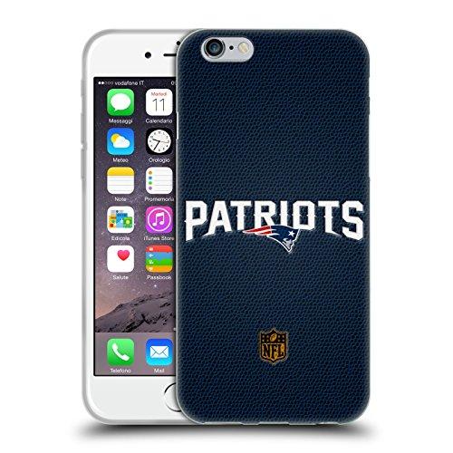 Ufficiale NFL Calcio New England Patriots Logo Cover Morbida In Gel Per Apple iPhone 6 / 6s