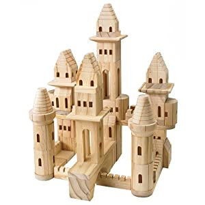Amazon.com: Treehaus Wood Castle Blocks: Toys & Gameslolitas castle