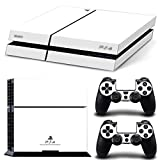 PS4 Skin PlayStation 4 Artic White Wrap Decal Skins Vinyl Sticker