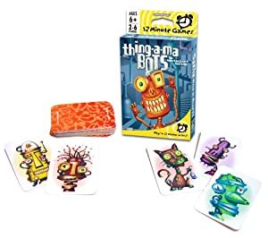 Thing-A-Ma-Bots Card Game by Gamewright