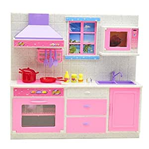 Light pink kitchen accessories