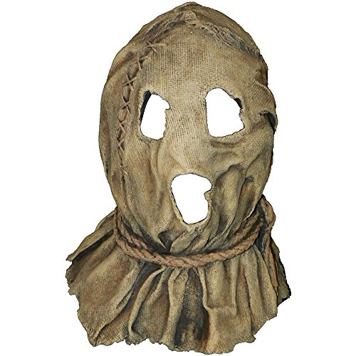 Dark Night Of The Scarecrow Latex Mask - One Size