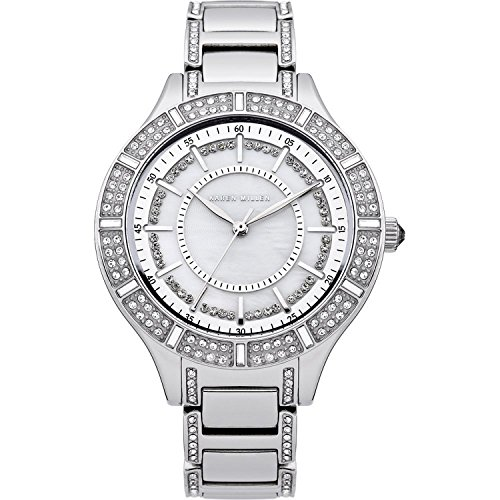 Купить со скидкой Karen Millen KM102SM Ladies Steel Bracelet Watch with Crystals