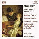 Mozart: Piano Duets, Vol. 1