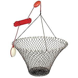 Crab lobster hoop net fishing nets for Hoop net fishing