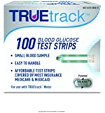TRUEtrack Blood Glucose Test Strips, 100-Count, (Packaging May Vary)
