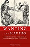 img - for Wanting and having: Popular politics and liberal consumerism in England, 1830-70 book / textbook / text book