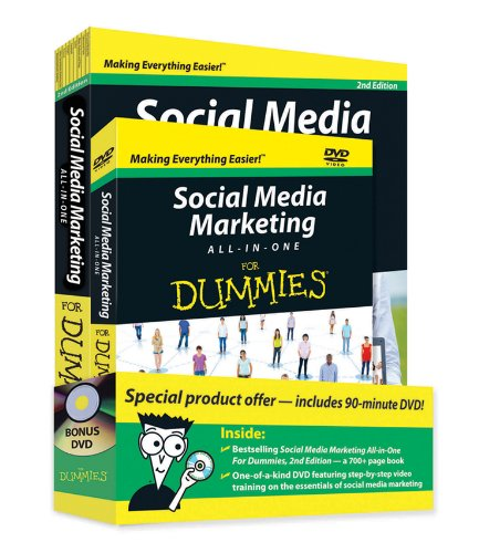 Social Media Marketing All-in-One For Dummies, Book + DVD Bundle 1118505409 pdf