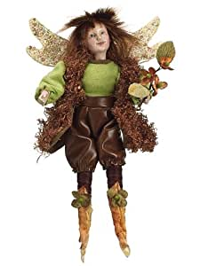 Silk Plants Direct Woodland Fairy Ornament (Pack of 4)