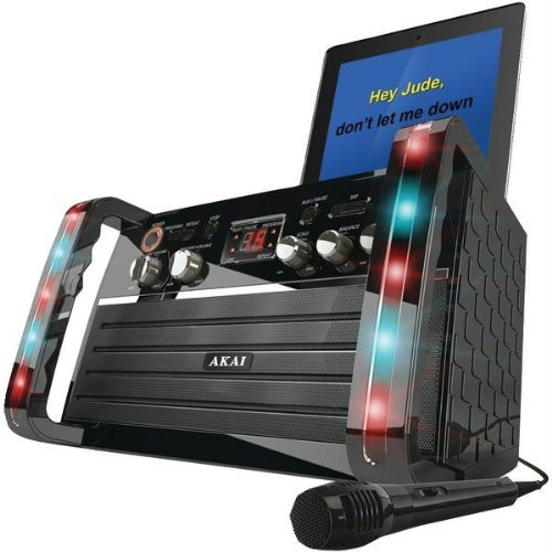 Great Features Of Akai KS-213 CD+G Karaoke Player with iPad Cradle
