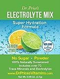 Electrolyte Mix: Super Hydration Formula, Lemon-Lime Flavor (30 powder packets) Drink Mix | Dr. Price's Vitamins