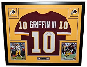 Robert Griffin III Autographed Signed and Framed Maroon Redskins Jersey Auto JSA... by Premier+Sports+Collectibles