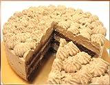 チョコシフォンケーキ6号 (チョコ生クリームのケーキ)