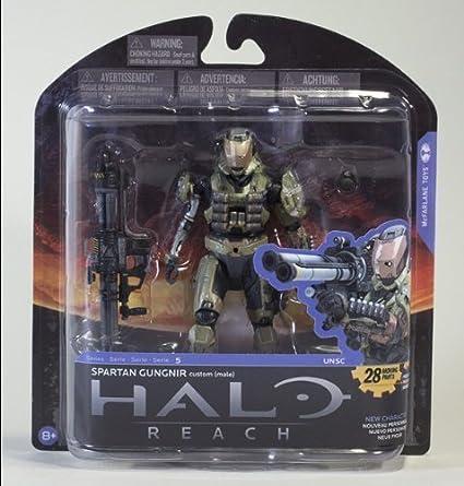 McFarlane Toys Halo Reach Series 5 Spartan Gungnir Custom Action Figure by McFarlane Toys TOY (English Manual)