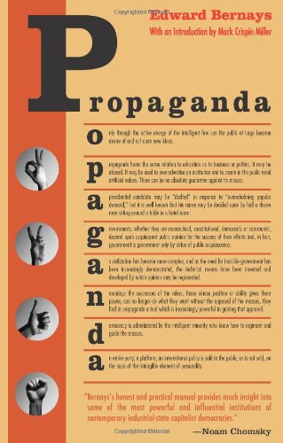 Propaganda: Edward Bernays, Mark Crispin Miller: 9780970312594: Amazon.com: Books