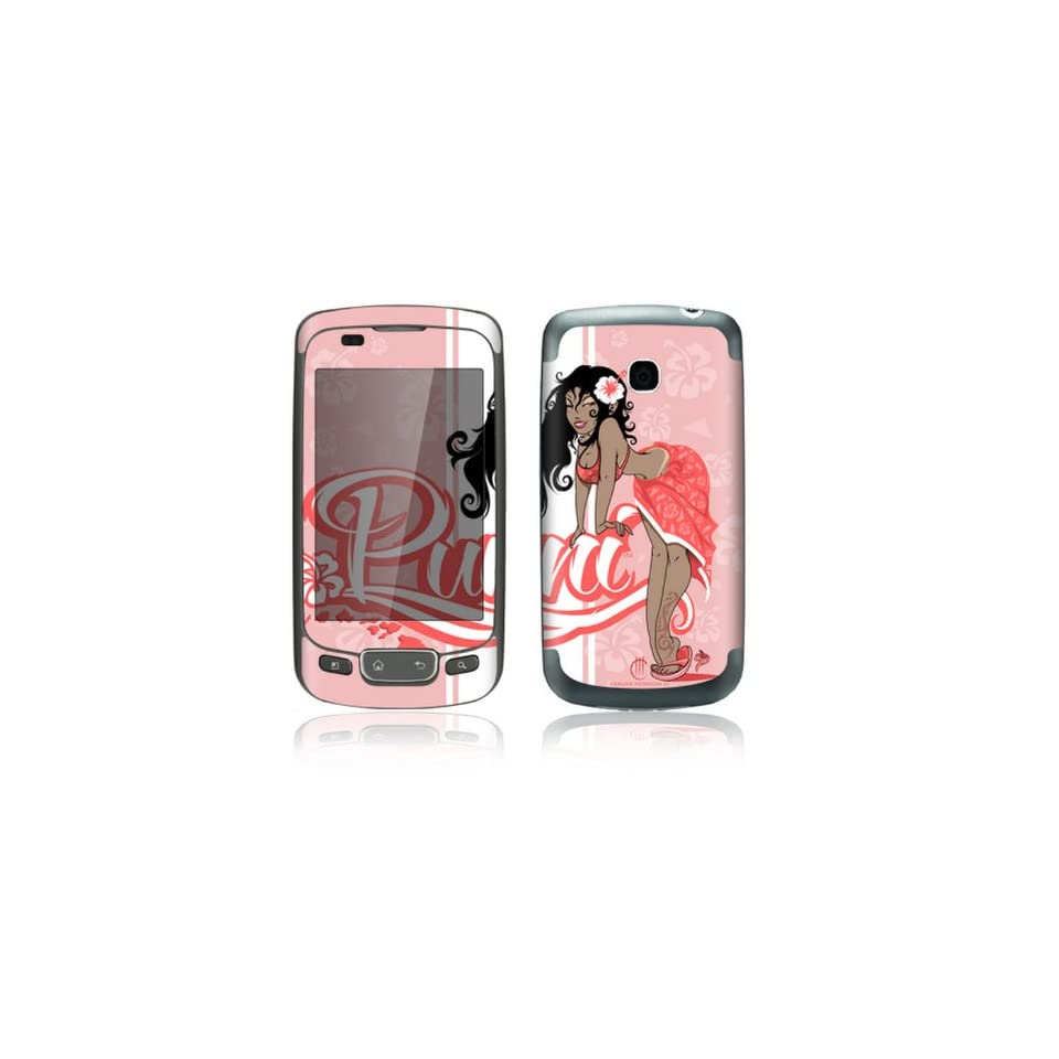 Puni Doll Pink Design Decorative Skin Cover Decal Sticker for LG Optimus One P500 Cell Phone