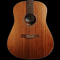 Seagull S6 Mahogany Deluxe SG Electro Acoustic Guitar - Solid Top with Mahogany Back & Sides