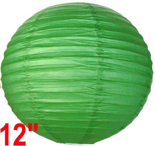 Green Chinese/Japanese Paper Lantern/Lamp 12