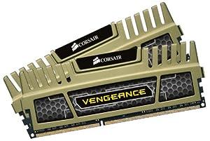 Corsair Corsair Vengeance Green 16GB DDR3 1600 MHz Desktop Memory CMZ16GX3M2A1600C9G