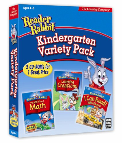 HB Reader Rabbit Kindergarten Variety Pack (PC and Mac)