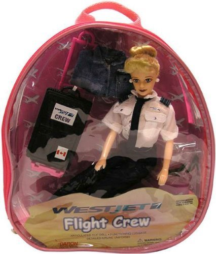 westjet-flight-attendant-doll-by-daron-worldwide
