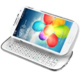 MiniSuit Samsung Galaxy S4 Bluetooth Backlit Keyboard Case (White)