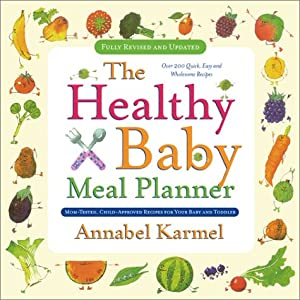 Cover of &quot;Healthy Baby Meal Planner&quot;